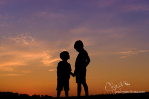 Boys in Silhouette