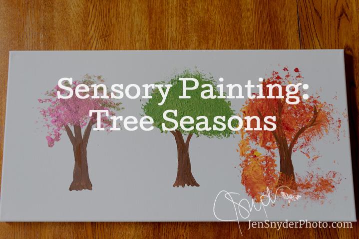 Tree Seasons Sensory Craft For Kids