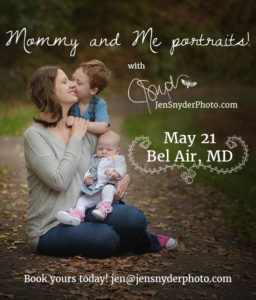 2017 Mommy and Me event!