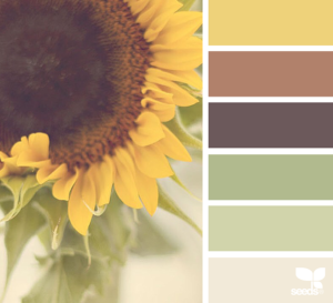 rich toasted color palette by Design Seeds