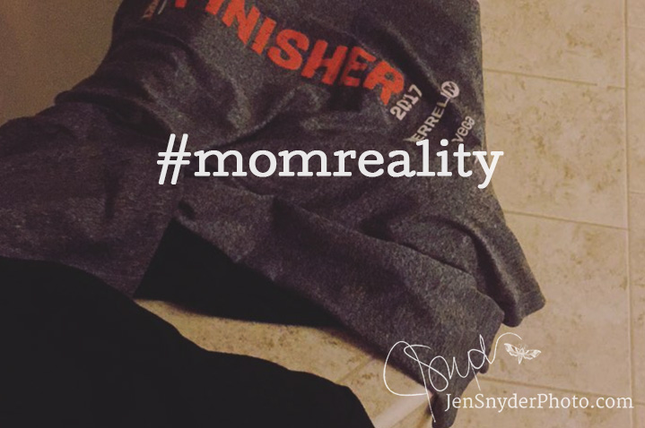 push back against the fake perfection in social media, embrace your reality with #momreality