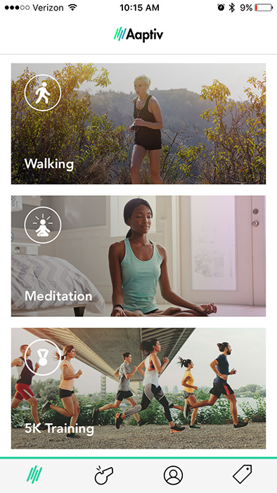 aaptiv - a workout app for busy moms