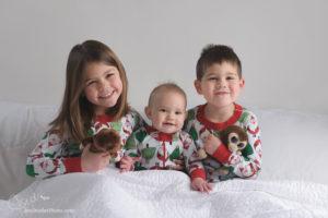 Christmas Pajama Portraits!