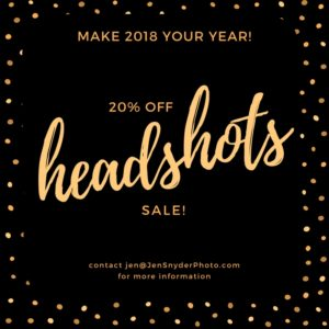 2018 Headshot Special