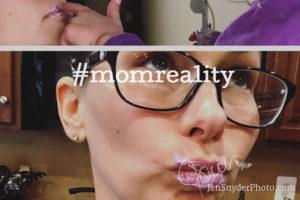 #momreality